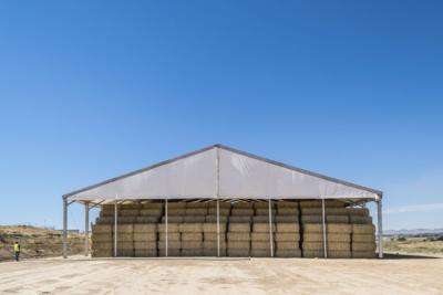 secaderos santiago, carpas para agricultura, carpas para industria, aracarpas, fabricantes de carpas en aragon
