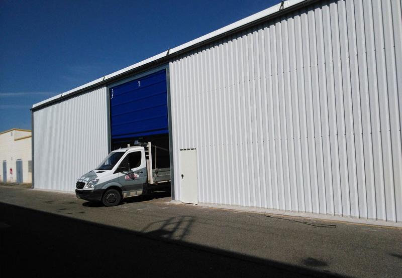 KDK automotive, carpas para industria, aracarpas, fabricantes de carpas en aragon