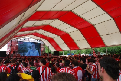 Fanzone Copa del Rey atletic