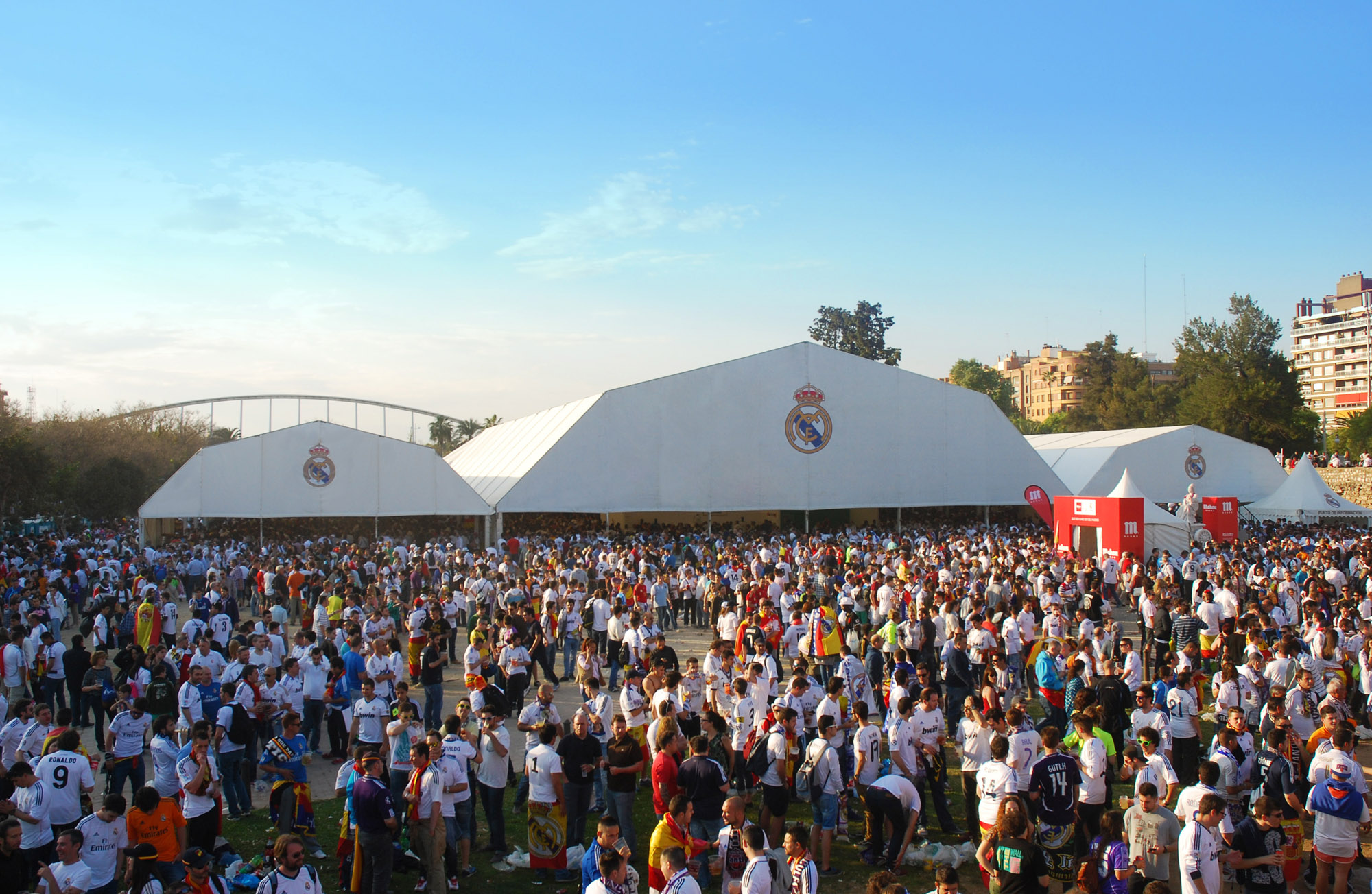 Copa del Rey Real Madrid Fan Zone