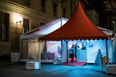 Carpas para Feria de Artesanía en Huesca