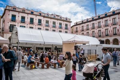 Carpa para Feria del Libro de Huesca | ARACARPAS - Venta y alquiler de carpas. Carpas a medida.