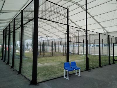 Carpa para pistas de pádel | ARACARPAS Carpas para instalaciones deportivas