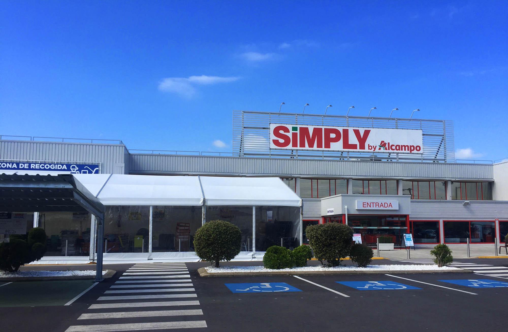 Carpa para venta de juguetes Simply